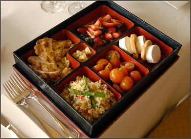 Bento Box Recipe from Willow Stream Spa at Fairmont Mayakoba, Riviera Maya