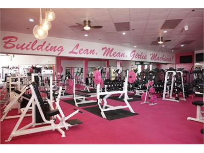 girly gyms and sexy workouts