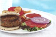 Mii Amo Veggie Burger