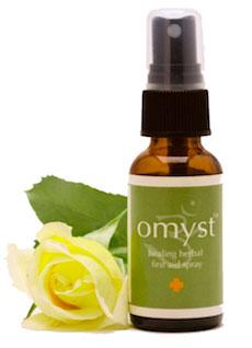 omyst healing herbal spray