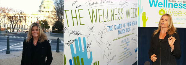 Mariel Hemingway Unveils The Wellness Week Pledge on Capitol Hill