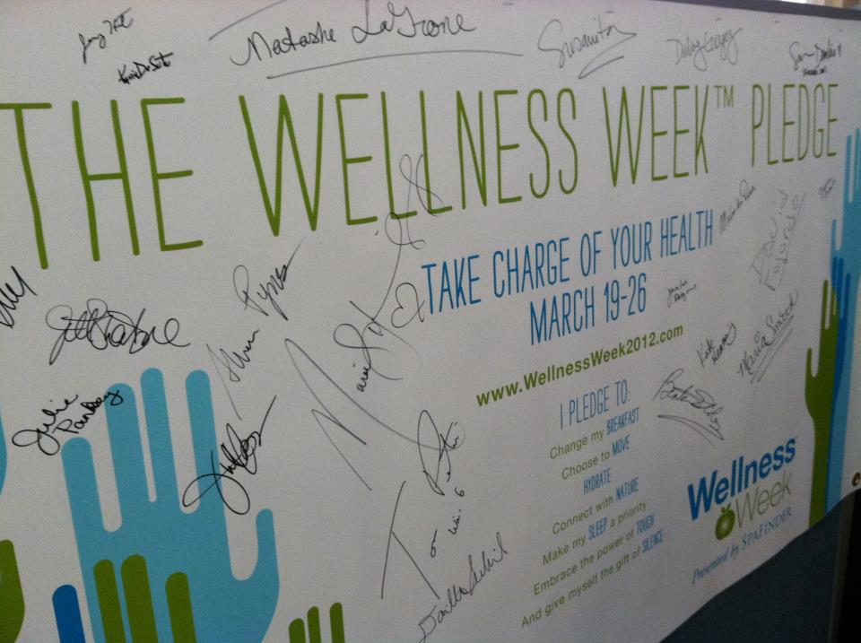 The Wellnes Week Pledge
