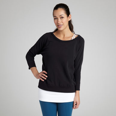 Relaxed Pullover, photo via beyondyoga.com