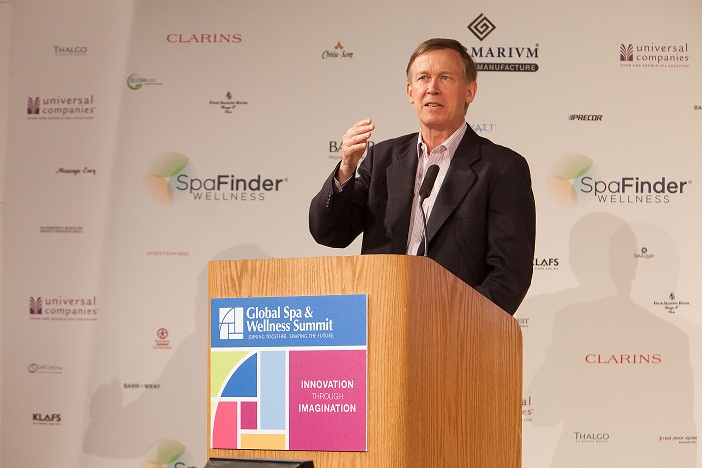 Governor Hickenlooper, Photo credit: Hal Williams 2012-5306