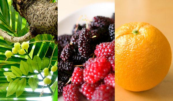 Indian Gooseberries, berries, orange