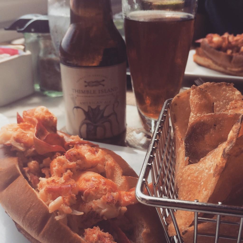 Lobster Roll from Fresh Salt