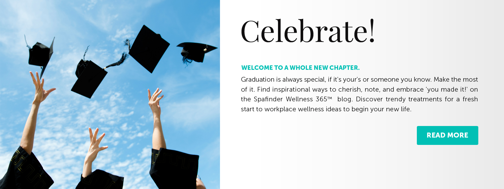 Celebrate! - Welcome to a Whole New Chapter