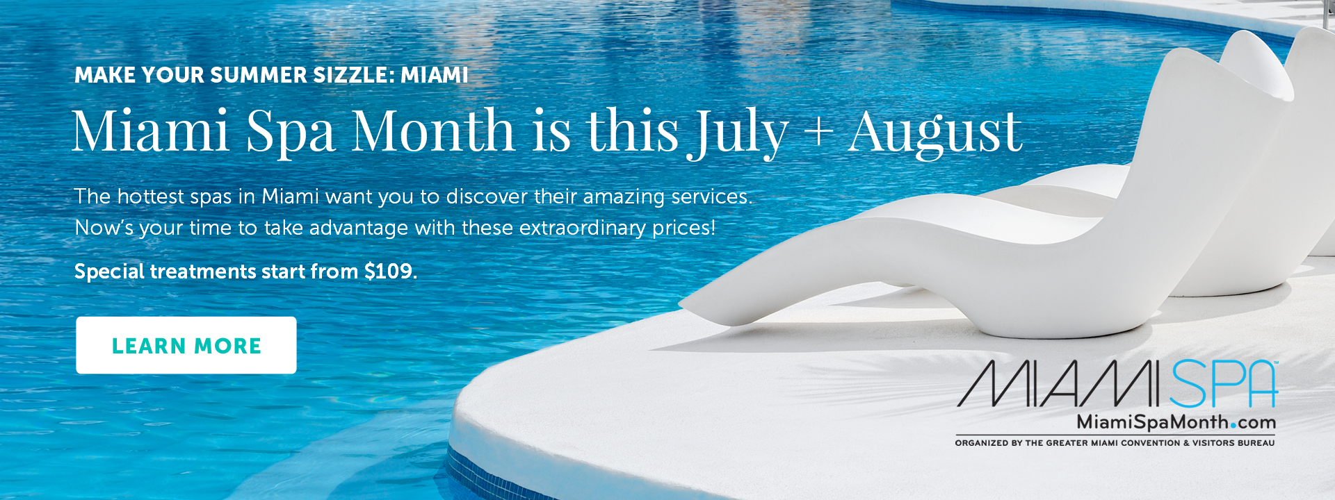 Make Your Summer Sizzle: Miami - Special treatments start from $109