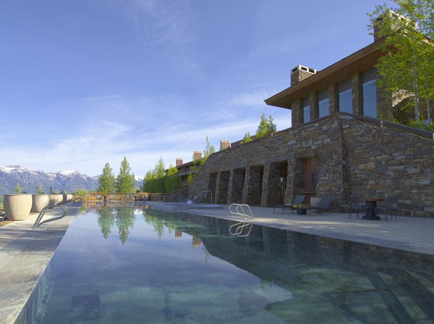 amangani pool wyoming