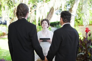 Young Female Minister Marries Gay Couple