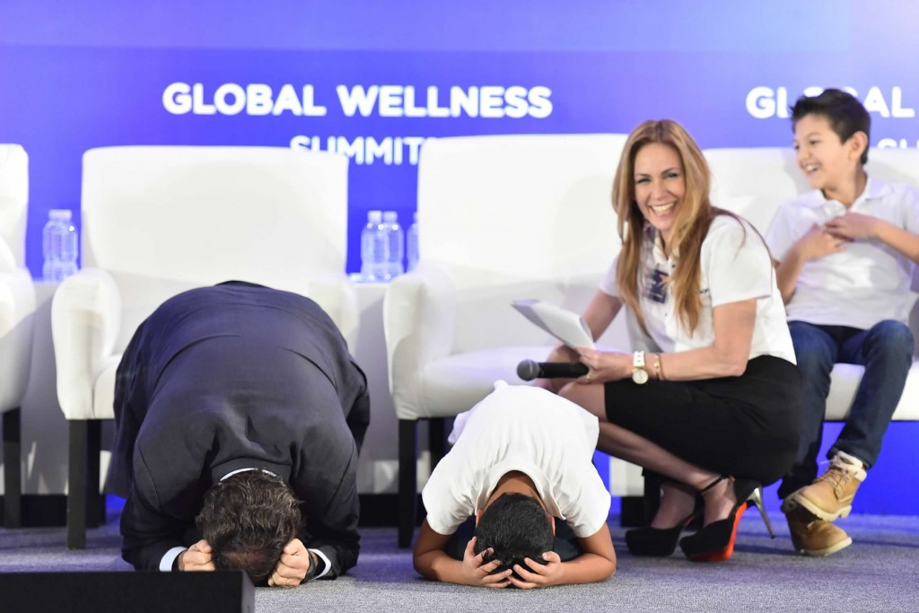 At the 2015 Global Wellness Summit, delegates saw a wellness-focused school in action when second graders from Mexico's innovative Instituto Thomas Jefferson took the stage to teach wellness executives lessons in empathy, optimism, anger management, goal setting and gratitude.