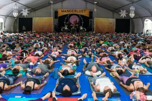 Wanderlust Festivals:A day at a wellness festival like Wanderlust might include an outdoor yoga or meditation class, a lecture on healthy living from a panel of experts, and then a guided nature hike or paddle board class.