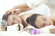 romantic at-home massage