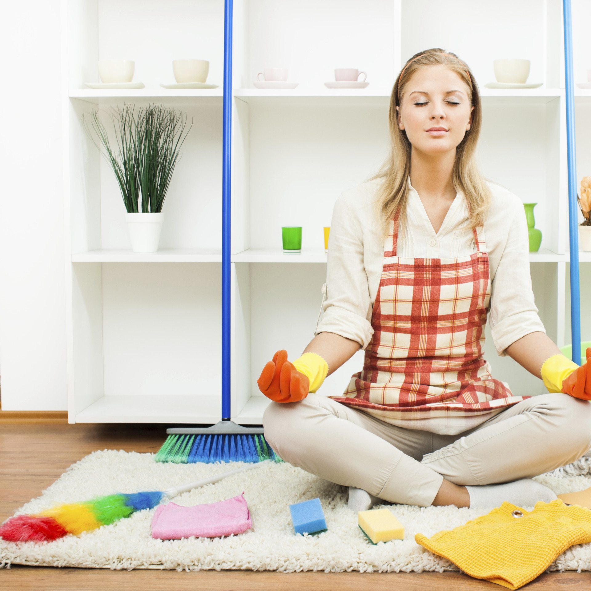 declutter tips and spring cleaning