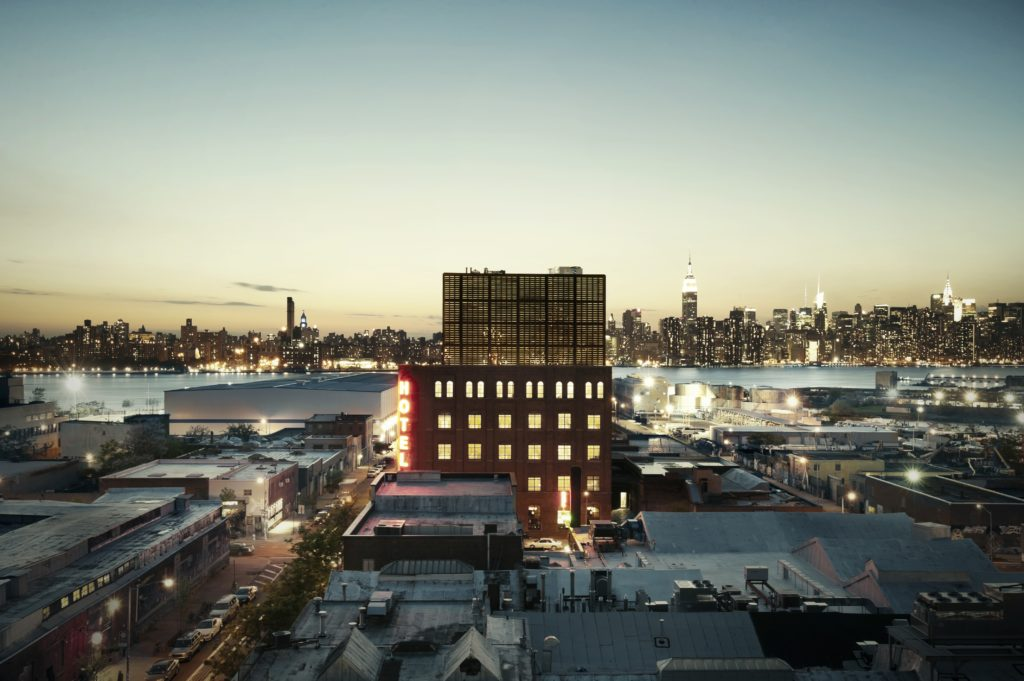 exterior of Wythe hotel