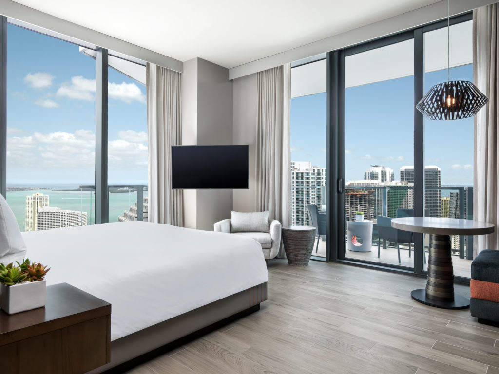 east miami hotel room