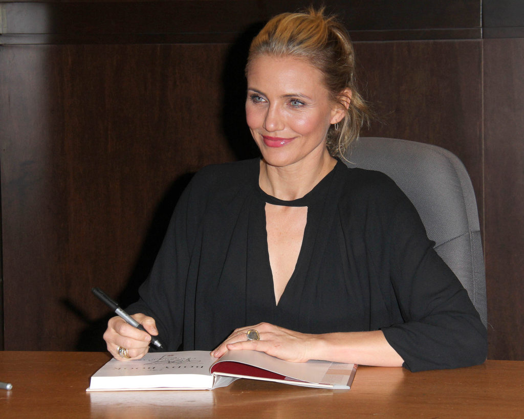 cameron diaz book signing