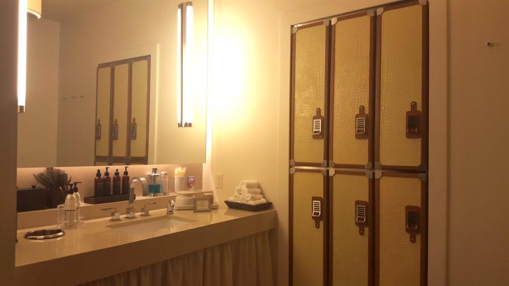 auberge spa lockers, aspen, hotel jerome