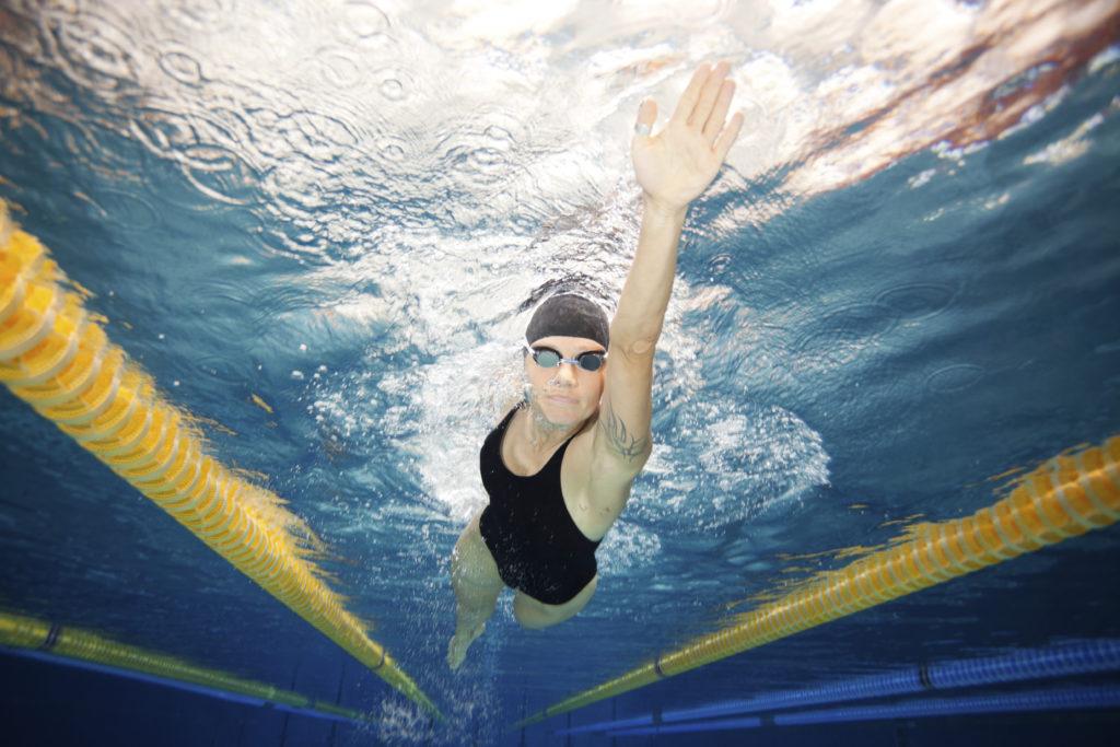 inners freestyle swimmer underwater shot