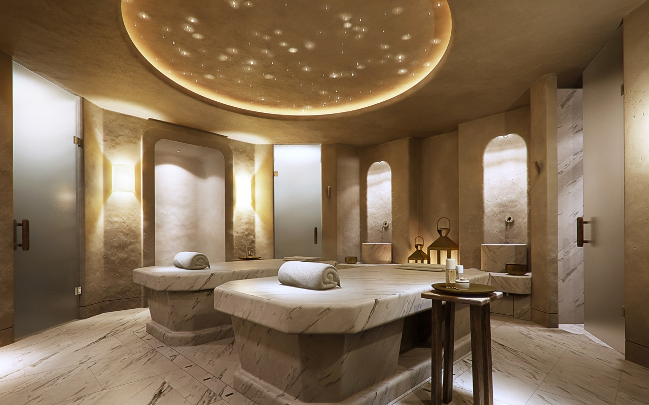 What is a hammam for Design wellness hotel