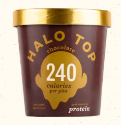 healthy ice cream halo top