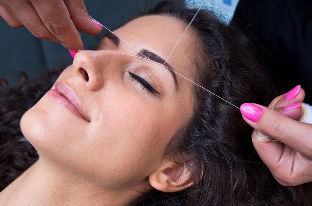 threading hair removal