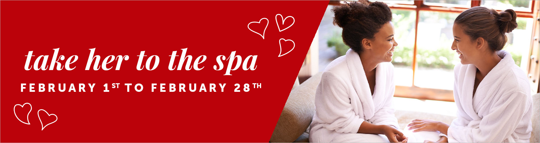 Take Her To The Spa On Valentine's Day