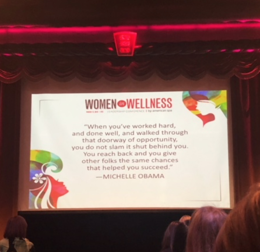 michelle obama women in wellness event