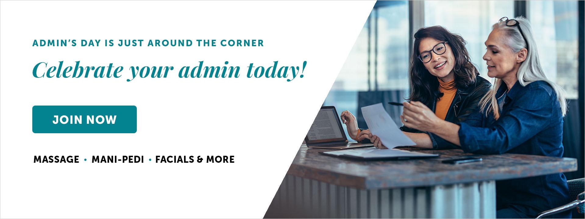 Spafinder Admin's Day